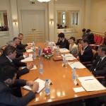 ウズベキスタン アジモフ第一副首相との会談